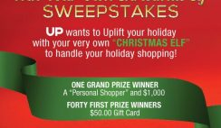 Up TV's Win Your Own Christmas Elf Sweepstakes