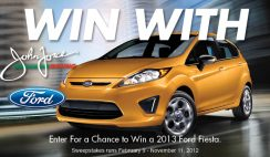 BrandSource's 2013 Win With Force Ford Fiesta Sweepstakes