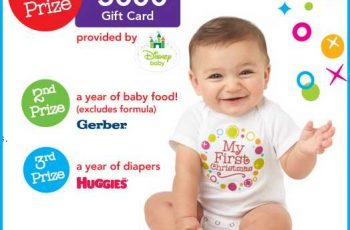 Babies R Us' Baby's First Christmas Sweepstakes