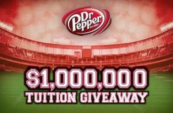 Dr. Pepper's $1,000,000 Tuition Contest