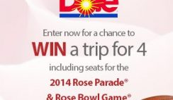 Dole's Cheer In the New Year Sweepstakes
