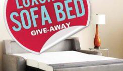 Bob Vila's Luxury Sofa Bed Give-Away Sweepstakes