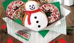 Free Krispy Kreme Holiday Doughnut