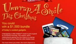 Little Debbie's Unwrap A Smile This Christmas Sweepstakes