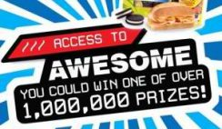 Lunchables' Access to Awesome Instant Win Game
