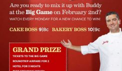 TLC's Cake Boss Kickoff Sweepstakes