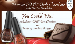 Dove Chocolate's Discover Your Dark Side in The New Year Sweepstakes