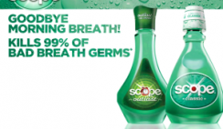 Mail-In Rebate for Scope Mouthwash