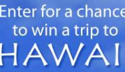 Sierra Trading Post's Hawaii Trip Sweepstakes
