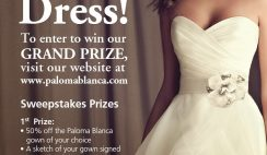 Paloma Blanca's Win a Dream Dress Contest