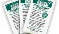 Free Real Time Pain Relief Sample Pack