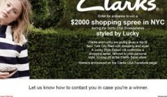 Clarks' Soho Chic Sweepstakes Styled by Lucky
