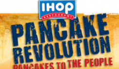 IHOP Pancake Revolution Freebies