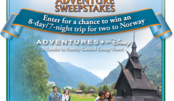 Amazon's Frozen Adventure Sweepstakes