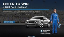 ESPN's Nationwide 2014 Mustang Giveaway Sweepstakes