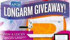 APQS' Great APQS Longarm Giveaway