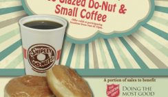 Free Donut and Coffee from Shipley Donuts on June 6