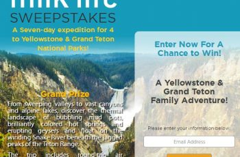 National Geographic's Milk Life Sweepstakes