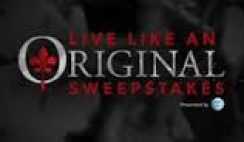 CW Network's Live Like an Original Sweepstakes