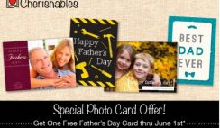Free Personalized Father's Day Card from Cherishables