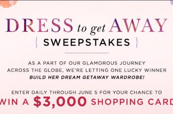Guess' Marciano Dress to Get Away Sweepstakes