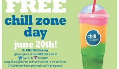 Free Chill Zone from Cumberland Farms