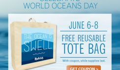 Free Reusable Tote Bag from Rubio's