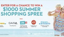 Red Tricycle's Win a $1000 Summer Shopping Spree Sweepstakes