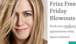 Free Blowout and Style from The Salon at Ulta