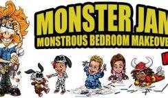 Monster Jam's Super Store Monstrous Room Makeover Sweepstakes