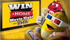 Mars' Summer Movie Moments Sweepstakes