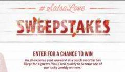 Sabra Salsa's Love Sweepstakes