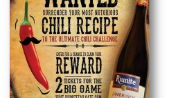 Riunite's Ultimate Chili Challenge Sweepstakes