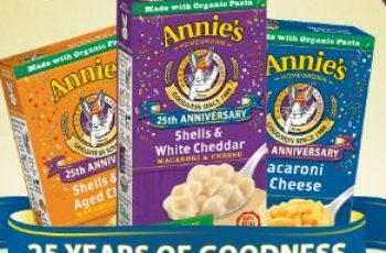 Annie's 25 Years of Goodness Grand Prize Giveaway Sweepstakes