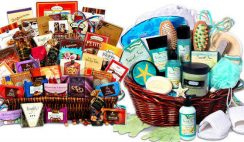 Grandparents' Jumbo Chocolate and Deluxe Spa Gift Baskets Sweepstakes
