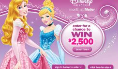Meijer's Disney Princess Month at Meijer Sweepstakes