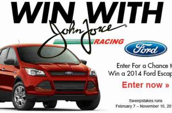 Brandsource's 2014 Win With Force Ford Escape Sweepstakes