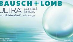 Free Bausch + Lomb Ultra Contact Lens Sample