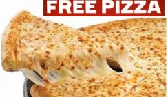 Free Small Cheese Pizza from Hungry Howie's