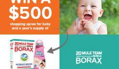 20 Mule Team Borax's Baby Fresh Fashions Sweepstakes