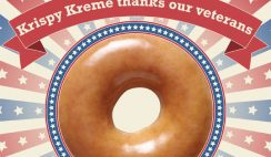 Free Krispy Kreme Doughnut and Coffee on Veteran's Day