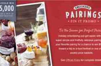 Smucker's Fruit Pairings Pin It Sweepstakes