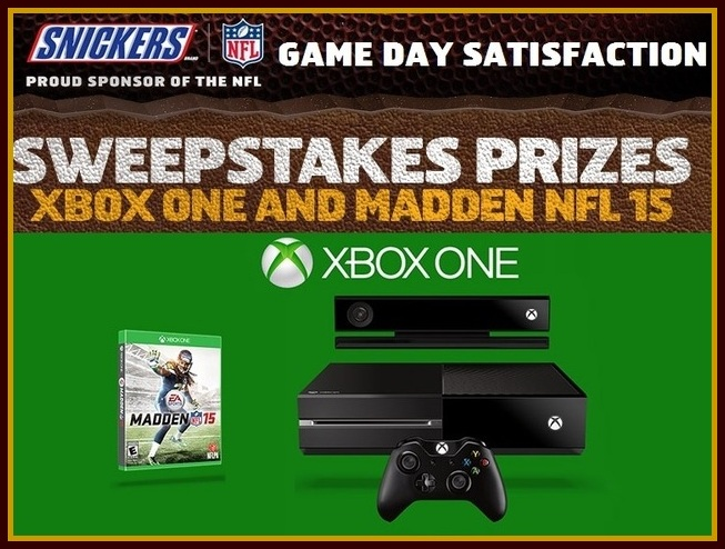 Snickers' The Game Day Satisfaction Sweepstakes