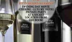 Fifty Shades of Grey Wine's Flyaway Weekend for Two to Seattle Sweepstakes