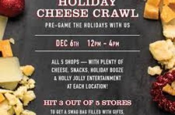 Free Cheese and Booze from DiBruno Brothers Cheese Crawl