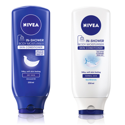 Free Nivea In-Shower Body Lotion