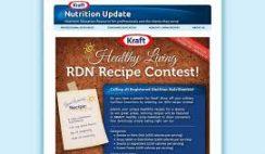 Kraft's Healthy Living RDN Recipe Contest