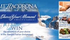 Mezzacorona's Choose Your Moment Sweepstakes