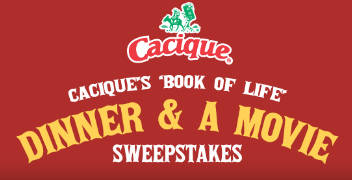 Cacique's Book of Life Sweepstakes