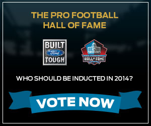 Ford's Built Ford Tough Pro Football Hall of Fame Sweepstakes